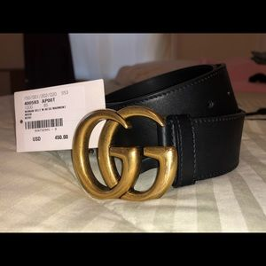 Women's GUCCI AUTHENTIC belt w. 40 GG Marmont